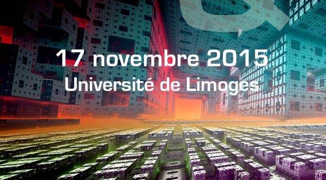 Programme de la journée d'étude «Genres littéraires et fictions médiatiques» (17 novembre 2015)